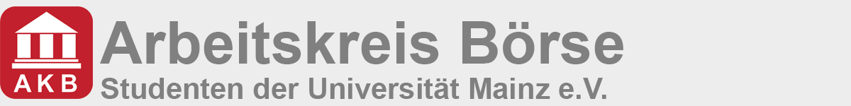 Arbeitskreis Börse - Studenten der Universität Mainz e.V.