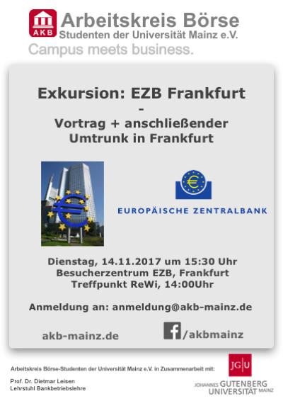 Exkursion: EZB